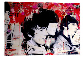 Tableau en verre acrylique  The Beatles - Michiel Folkers