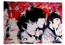 Tableau en PVC  The Beatles - Michiel Folkers