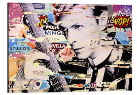 Tableau en aluminium  David Bowie - Michiel Folkers