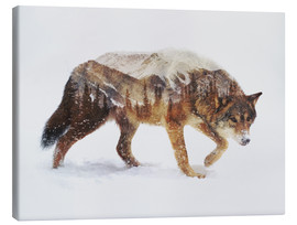 Toile  Arctic Wolf - Andreas Lie