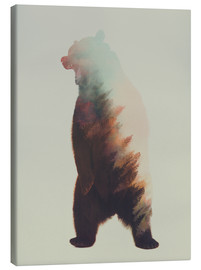 Toile  Norwegian Woods The Bear - Andreas Lie