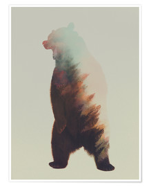 Poster  Norwegian Woods The Bear - Andreas Lie