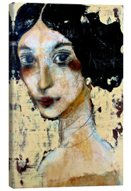 Tableau sur toile  WOMAN WITH BLACK HAIR - RAR Kramer