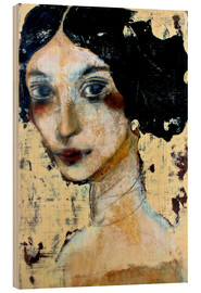 Bois  WOMAN WITH BLACK HAIR - RAR Kramer