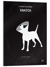 Verre acrylique  No079 My Snatch minimal movie poster - chungkong