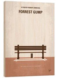 Bois  No193 My Forrest Gump minimal movie poster - chungkong