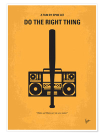 Poster Do the right thing (anglais)