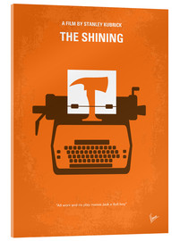 Verre acrylique  No094 My The Shining minimal movie poster - chungkong
