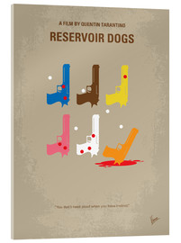 Verre acrylique  No069 My Reservoir Dogs minimal movie poster - chungkong