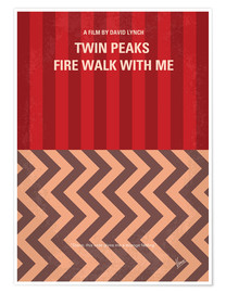Poster Twin Peaks, Fire walk with me