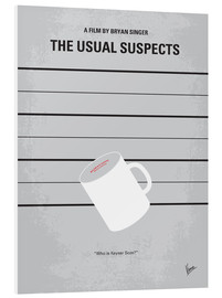 Tableau en PVC  Usual Suspects (anglais) - chungkong