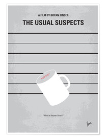 Poster Usual Suspects (anglais)