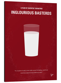 Alu-Dibond  No138 My Inglourious Basterds minimal movie poster - chungkong