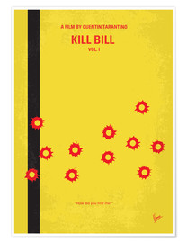 Poster Kill Bill Vol. 1 (anglais)