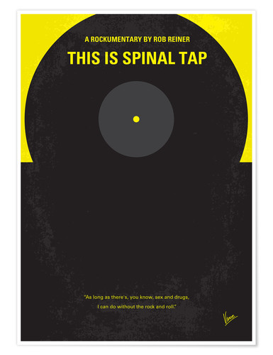 Poster Spinal Tap (anglais)