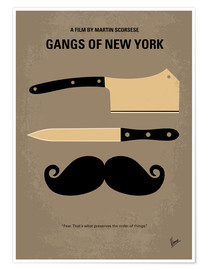 Poster Gangs of New York (anglais)