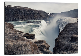 Alu-Dibond  Gulfoss - Images Beyond Words