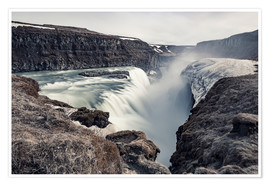 Poster  Gulfoss - Images Beyond Words