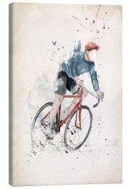 Toile  I want to ride my bicycle - Balazs Solti