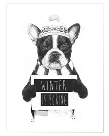 Poster Winter is boring
