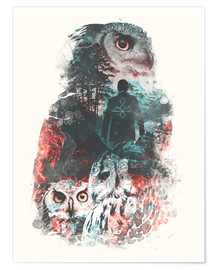 Poster  The Owls are Not What They Seem - Barrett Biggers