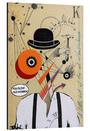 Alu-Dibond  Orange mécanique - Loui Jover