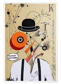 Poster Orange mécanique