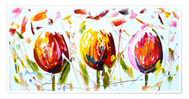 Poster Tulips 2