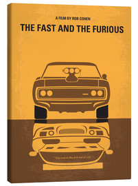 Tableau sur toile  The Fast and the Furious - chungkong