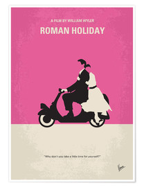 Poster Vacances romaines (anglais)