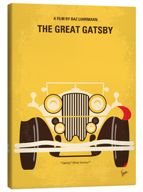 Toile  No206 My The Great Gatsby minimal movie poster - chungkong