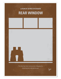 Poster  Rear window - chungkong