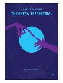 Poster No282 My ET minimal movie poster