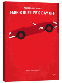 Toile  No292 My Ferris Bueller's day off minimal movie poster - chungkong