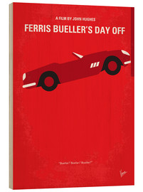Bois  No292 My Ferris Bueller's day off minimal movie poster - chungkong