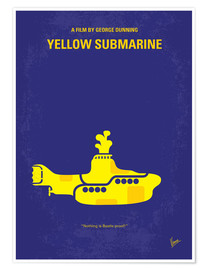Poster Yellow Submarine (anglais)