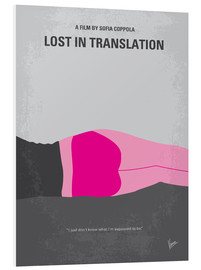 Tableau en PVC  Lost in Translation (anglais) - chungkong
