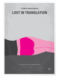 Poster Lost in Translation (anglais)