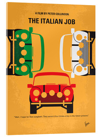 Verre acrylique  The Italian Job - chungkong