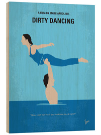Bois  No298 My Dirty Dancing minimal movie poster - chungkong