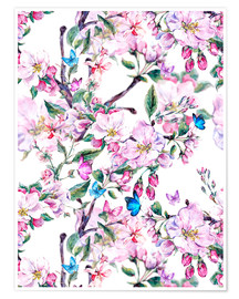 Poster  Peach blossoms