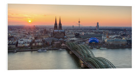 Forex  Panorama view of Cologne at sunset - Michael Valjak
