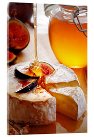 Verre acrylique  Brie Cheese and Figs with honey - Johan Swanepoel