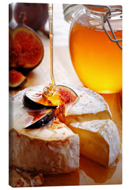 Toile  Brie Cheese and Figs with honey - Johan Swanepoel