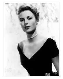 Poster  Grace Kelly in 1956
