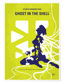 Poster  Ghost in the Shell (anglais) - chungkong