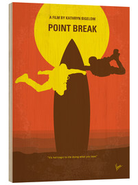 Tableau en bois  Point Break (anglais) - chungkong