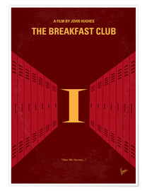 Poster The Breakfast Club (anglais)
