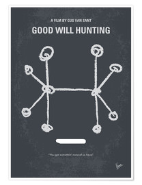 Poster Will Hunting (anglais)