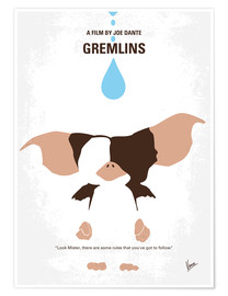 Poster No451 My Gremlins minimal movie poster